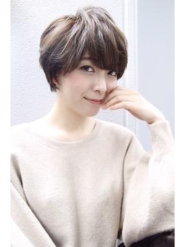 -WILL-大人小顔ショート☆イルミナカラー☆