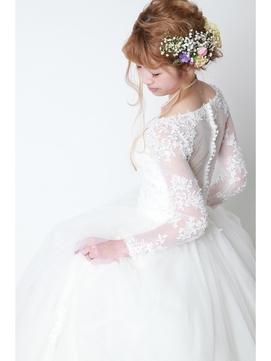 花嫁さまヘアー*