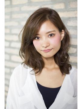 【arts新宿】03-5388-4880 大人可愛い くびれセミディ