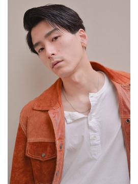 【stylist : GAKU】スリークショート / ビジネスヘア / 七三