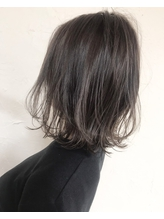 黒髪風グレージュアッシュSHIGE .58