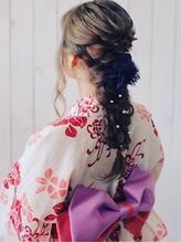 編みおろし+浴衣着付け.51