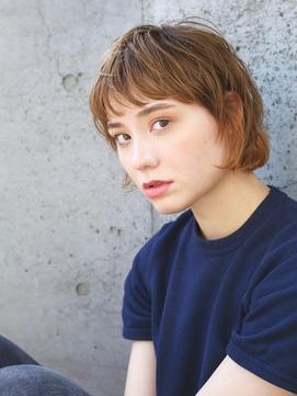 【andrey Ebisu】短め前髪 ショート[junya]