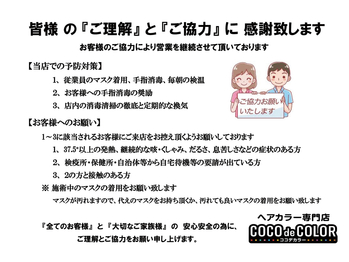 ココデカラー 新潟牡丹山店(COCO de COLOR)(新潟県新潟市東区/美容室)