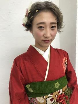 【seek菜月】成人式ヘアセット【長野 松本】