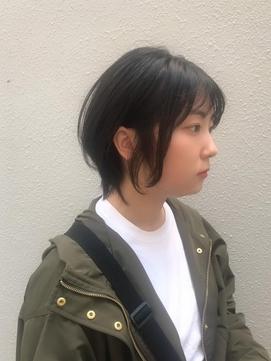 黒髪ショートボブ 社会人 【柏】