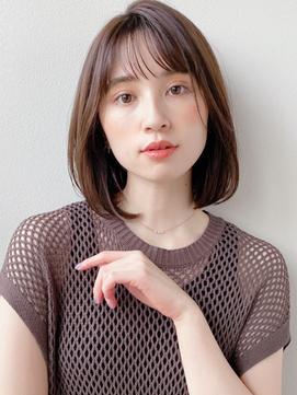 [K-two青山]シースルーバング/ボブ/モテ髪カタログ[表参道/青山]