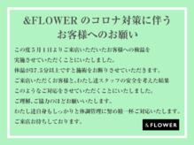 アンドフラワー(&FLOWER)の詳細を見る