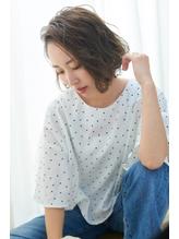 【VIRGO】30代ゆれパーマで朝が楽ちんカジュアルボブ.20