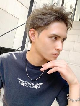 Lowha ワイルドアップバング ☆ 七三オールバック