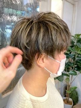 2021年春髪型丸顔卵型に合うショートヘア梅ヶ丘美容室