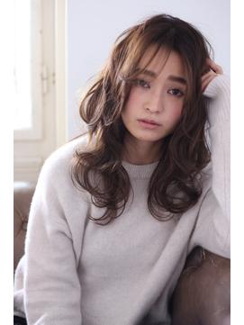 Bella Yumie☆褒められ髪☆透け感パーマスタイル