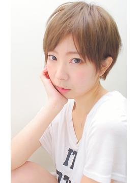 【micca下北沢】☆簡単可愛い小顔耳かけベリーショート☆