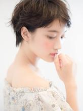 【THREE by KEEP】エアリーショート×メルトカラー【by三橋】.34