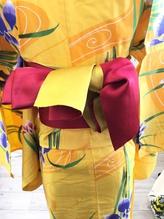 【片流し】5パターン限定 浴衣帯結びアレンジ.23