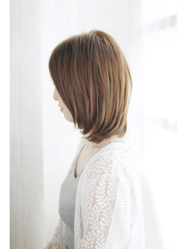 吉祥寺3分/モード3Dカラージグザグバング美髪ミニマムボブ/073