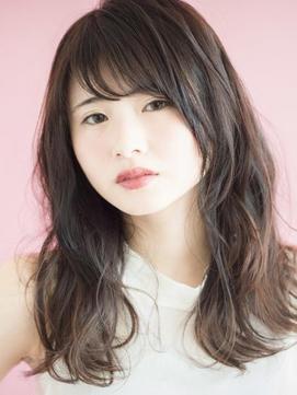 【THREEbyKEEP尾山台関谷】髪質改善カラー黒髪パーマミディアム
