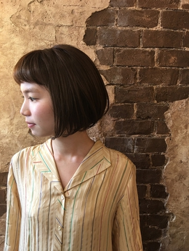 magiy hair [nico] 短めバング 切りっぱなしボブ