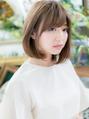 ★ベージュ系カラー☆小顔ナチュラルストレート20代30代40代★7!