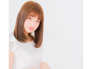 ヘアーアンドメイク クリース 福岡店(hair&make CRECE)(福岡県福岡市中央区)