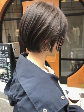 【NOA】イメチェン マッシュ ハンサムショート
