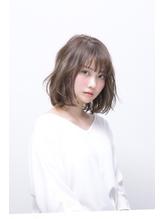 【Dulce】チュールロブ×とろみ シルバー.41