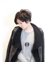「UNIX銀座」桑野健司 ジェンダーレスショート×ブルージュ.27