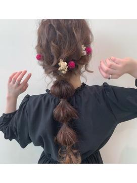 【CIENA】かわいい編みおろしスタイル@吉澤