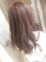 【外国人風】ハイライトカラー×ヌーディベージュ☆★ メッシュ.54