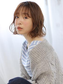 【valentine中居】デジタルパーマカール*ミニマムボブ