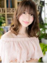 *+COVER HAIR+*…ナチュラル・色っぽ・セミディa くびれカール.43