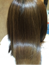 特許所得のCTFカラーや89%天然由来成分のカラーを使用☆肌の弱い方でもOK!潤いと輝きに満ちた美髪に♪