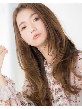 【Euphoria/銀座】エレガントな大きめ巻きロング by上原