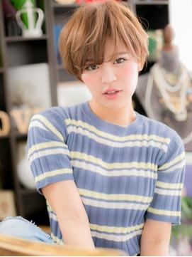 *+COVER HAIR+*…ルーズ&大人かわいい☆ハンサムショートd