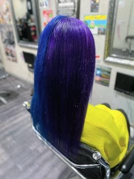 blue × purple two tone color TRICKstyle!