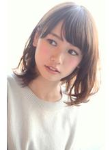 大沼圭吾フリンジバングひし形カールグレージュ&スポンテニアス .56