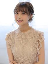 結婚式のお呼ばれにおすすめ☆アップスタイル.27