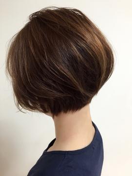 大人フェミニンショートボブ【R's hair yasu】