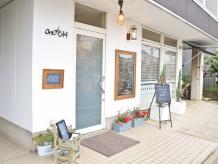 カフェ風のおしゃれな外観♪店内もセンスあふれる空間です♪