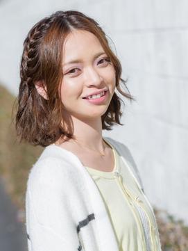 ☆Casa新宿☆お洒落したい日におすすめな編み込みアレンジ!