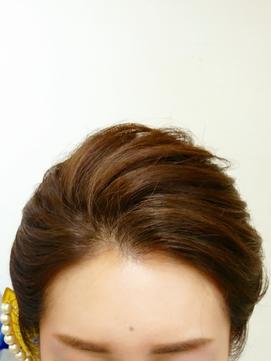 ☆着物に似合う♪『前髪あげてキレイなアップスタイル』(*^-^*)