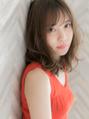 【ROMA】紗栄子さん風 大人かわいい毛先パーマレイヤーセミディ