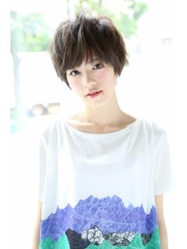 【Un ami】 大人かわいい・ラフショートヘア  松井 幸裕