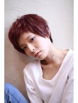 【ToukoaRua】小顔ショートにベビーバング