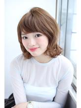 外ハネランダムが大人可愛いウェーブ スタイル☆.16