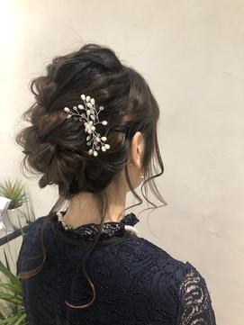 結婚式や特別な日にヘアアレンジ【石川】