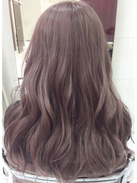 柔らかカラー☆ピンクパープル透明感カラー☆sherry