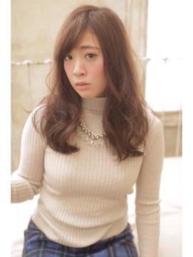 『Lee nishinomiya』透け感×アッシュベージュ