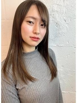 揺れ感ツヤサラ美髪ストレート【HEAT by UNCUT&LOUNGE 渋谷】