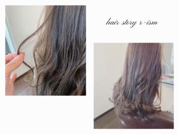 ヘアストーリー リズム(hair story r ism)(茨城県つくば市/美容室)